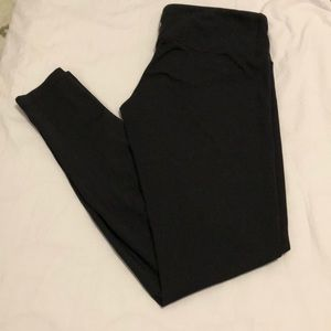 Lululemon athletica Wunder Under Black Leggings